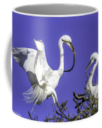 Great Egrets Nesting Coffee Mug