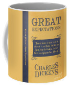 Great Expectations By Charles Dickens Book Cover Poster Art 1 Coffee Mug