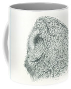 Great Grey Owl Coffee Mug
