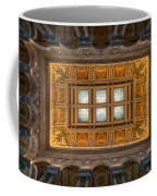 Great Hall Ceiling Library Of Congress Coffee Mug