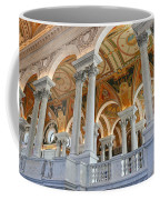 Great Hall Of The Library Of Congress  Coffee Mug