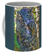 Great Horned Owl In Salmonier Nature Park-nl Coffee Mug