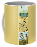Great Lakes Triptych 2 Coffee Mug by Michelle Calkins