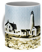 Great Point Lighthouse Nantucket Coffee Mug