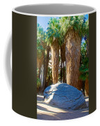 Great Sliding Rock In Lower Palm Canyon In Indian Canyons Near Palm Springs-california Coffee Mug