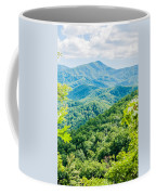 Great Smoky Mountains National Park Near Gatlinburg Tennessee. Coffee Mug