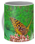 Great Spangled Fritillary Butterfly - Speyeria Cybele Coffee Mug