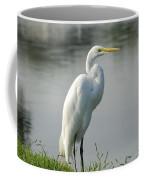 Great White Egret Coffee Mug