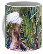Great White Heron Sanctuary Coffee Mug