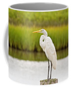 Great Egret Coffee Mug