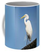 Greater White Egret Coffee Mug