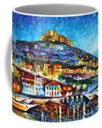 Greece Lesbos Island 2 Coffee Mug by Leonid Afremov