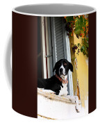 Greek Dog Coffee Mug