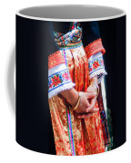Greek Easter Holiday - Woman In Traditional Dress Coffee Mug