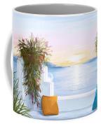 Greek House Coffee Mug