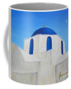 Greek Island Church  Coffee Mug