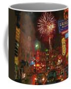 Greektown Night Coffee Mug