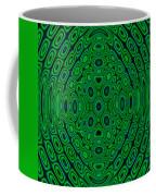 Green Abstract Coffee Mug