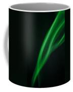 Green Smoke Abstract Coffee Mug