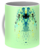 Green Alien Coffee Mug