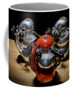 Green And Orange Atomic 1 Coffee Mug