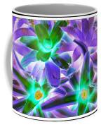 Green And Purple Cactus Coffee Mug