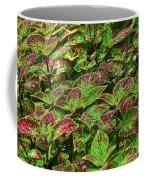 Green And Purple In Nature Coffee Mug