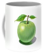 Green Apple Still Life Coffee Mug