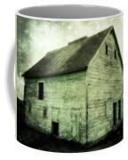 Green Barn Coffee Mug by Julie Hamilton