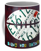 Green Bay Packers Football License Plate Art Coffee Mug