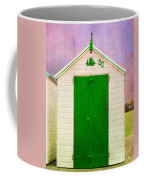 Green Beach Hut Coffee Mug