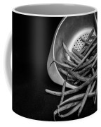 Green Beans Coffee Mug by Lauri Novak