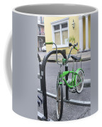 Green Bike Coffee Mug
