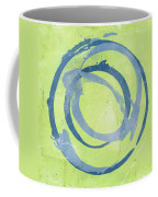 Green Blue Coffee Mug