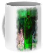 Green Bottle Photo Art Coffee Mug