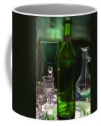 Green Bottle Coffee Mug