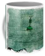 Green Buoy - Barnegat Inlet - New Jersey - Usa Coffee Mug