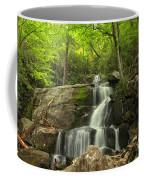Green Canopy Above Laurel Falls Coffee Mug