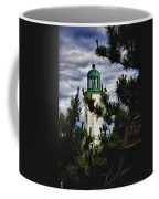 Green Copper Lantern Room On Scituate Lighthouse Coffee Mug