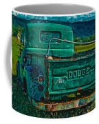 Green Dodge Coffee Mug