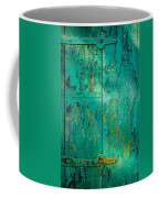 Green Door - Carmel By The Sea Coffee Mug