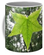 Green Droplets Coffee Mug