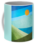 Green Fields Blue Waters Coffee Mug