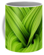Green Folds Coffee Mug