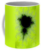 Green Fractal Coffee Mug