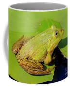 Green Frog 2 Coffee Mug