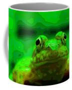 Green Frog Poster Coffee Mug