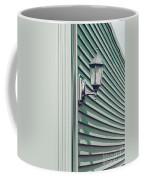 Green Geometry Coffee Mug