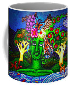 Green Goddess With Waterfall Coffee Mug