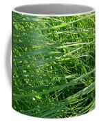 Green Grass Growing Coffee Mug